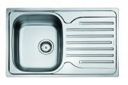 Franke - dřez nerez PXN 611-78 3 1/2, 780x490 mm (stříbrná)