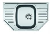 Franke - dřez nerez PXN 612-E 3 1/2, 780x490 mm (stříbrná)