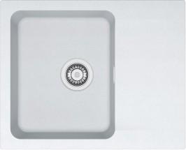 Franke - dřez Tectonite OID 611-62, 620x500 mm (bílá)