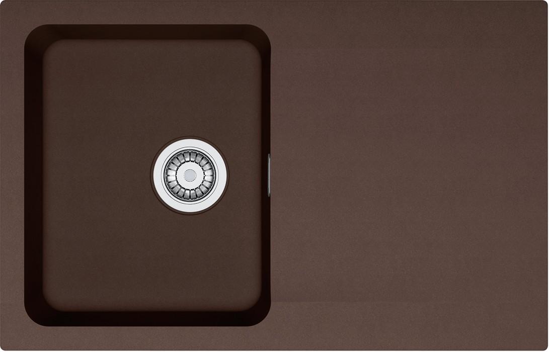 Franke - dřez Tectonite OID 611-78, 780x500 mm (hnědá )