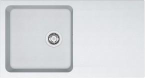 Franke - dřez Tectonite OID 611, 940x510 mm (bílá)