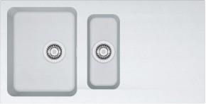 Franke - dřez Tectonite OID 651, 1000x510 mm (bílá)