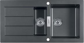 Franke - dřez Tectonite SID 651, 1000x510 mm (černá)