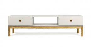 Fresh - TV stolek, 3562-083 (dub/teplá šedá)