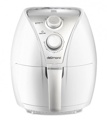 Fritovací hrnec Fritéza Delimano Air Fryer white