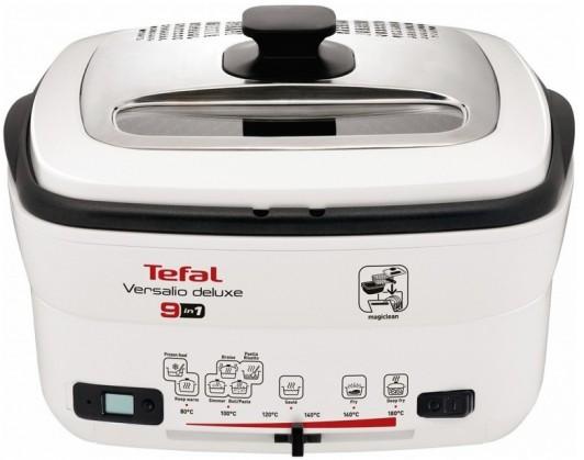 Fritovací hrnec Fritéza Tefal Versalio Deluxe FR495070, 9v1, 2l