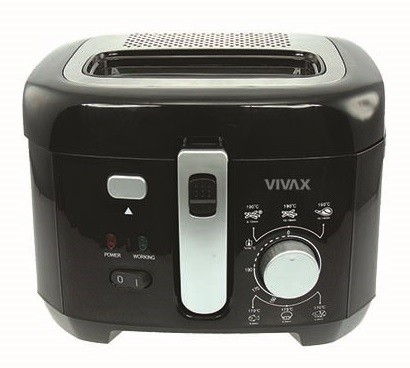 Fritovací hrnec Fritéza Vivax DF-1800B