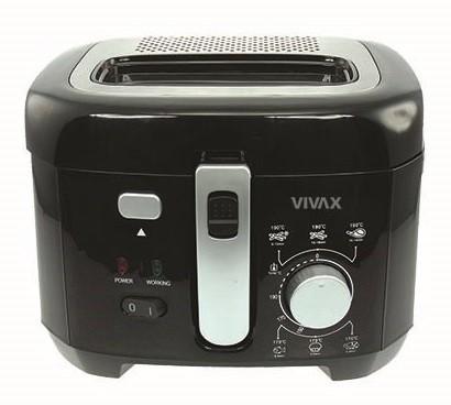 Fritovací hrnec Fritéza Vivax DF-1800B ROZBALENO