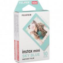 Fujifilm Instax mini modrý rámeček 10 ks fotek