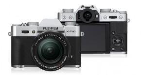 Fujifilm X-T10 Silver + objektiv XF18-55mm