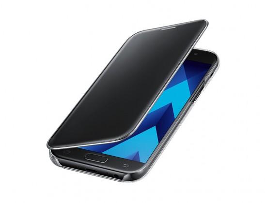 Galaxy A5 (2017) Flipové pouzdro Clear View Black