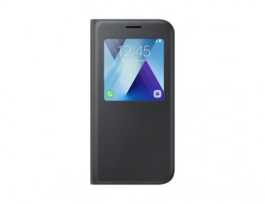 Galaxy A5 (2017) Flipové pouzdro S View se stojánkem Black