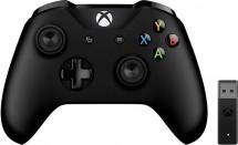 Gamepad Microsoft XBOX ONE ovladač, bezdrátový, k PC, černý