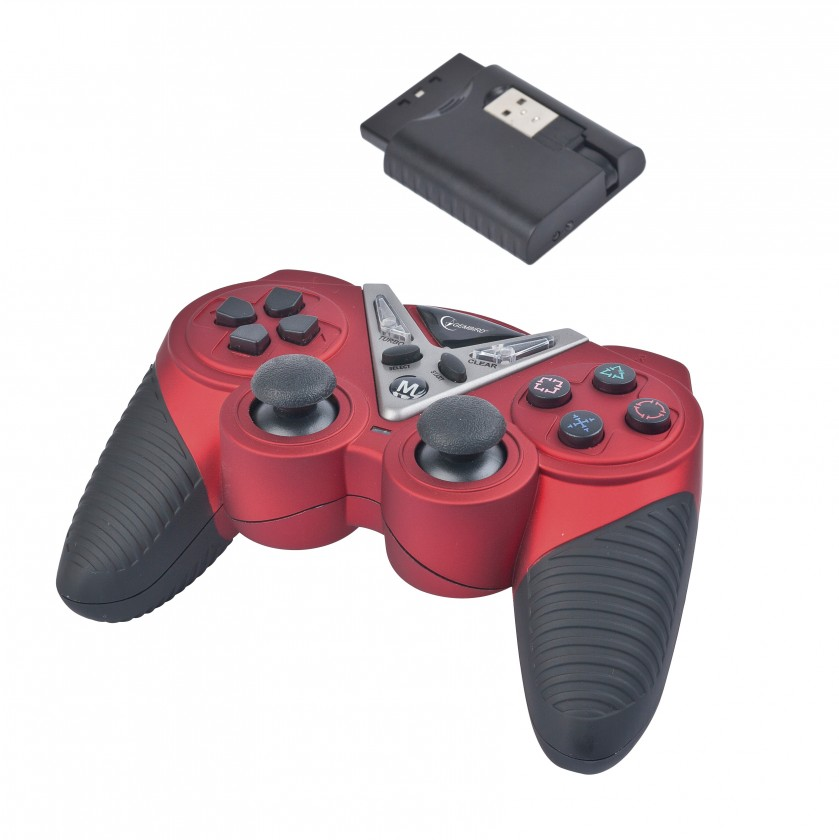 Gamepady Joy Gamepad bezdrátový GEMBIRD JPD-ST04W pro PC/PS2/PS3