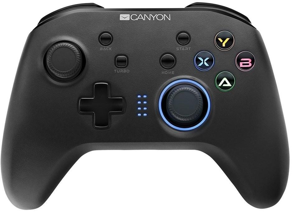 Gamepady pro PC Gamepad Canyon CND-GPW3, pro NS, PS3, PC, android, bezdrátový