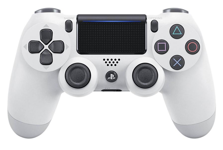 Gamepady pro PlayStation Gamepad Sony Dual Shock 4 pro PS4 v2 - ledově bílý (PS719894650)