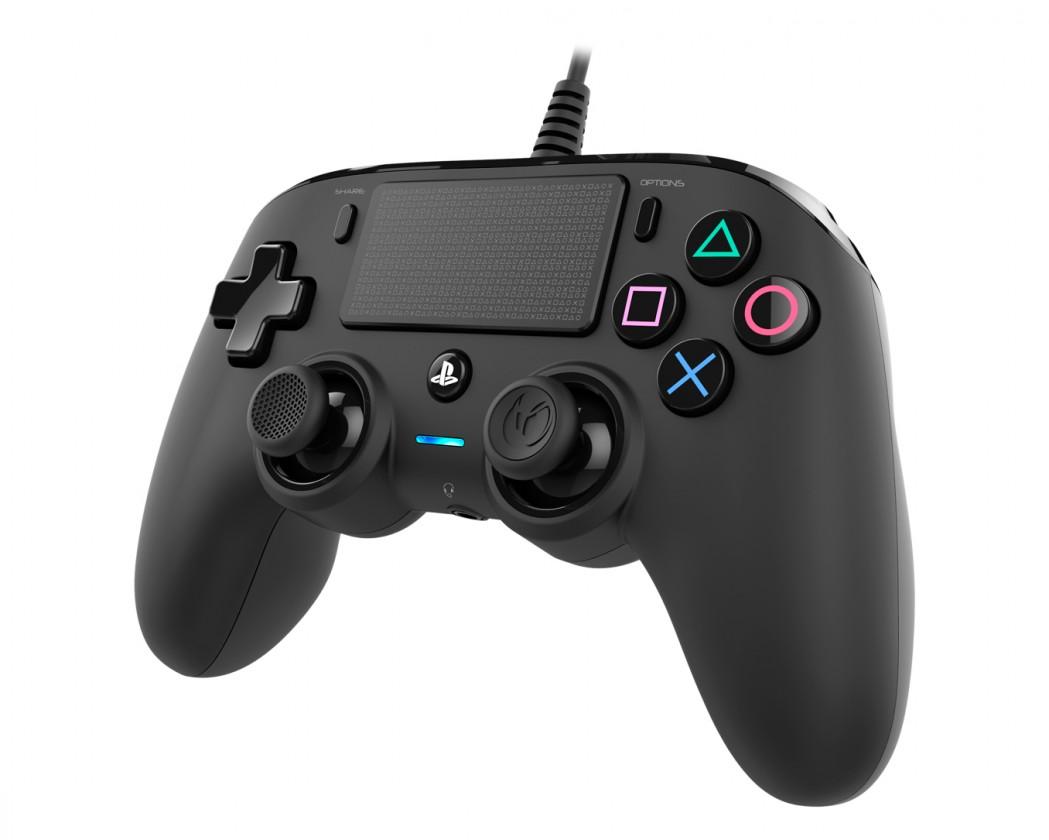 Gamepady pro PlayStation PS4 herní ovladač Nacon Compact Controller - Coloured Black