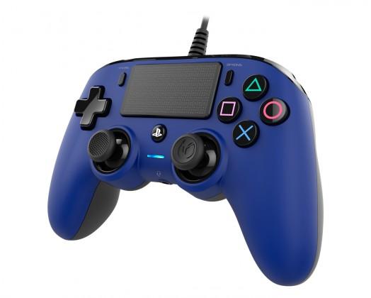Gamepady pro PlayStation PS4 herní ovladač Nacon Compact Controller - Coloured Blue