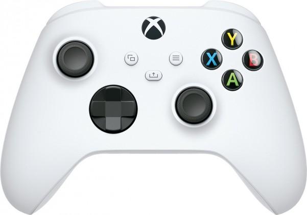 Gamepady pro Xbox Bezdrátový ovladač Xbox One Series, bílý
