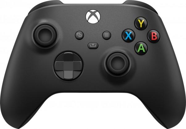 Gamepady pro Xbox Bezdrátový ovladač Xbox One Series, černý