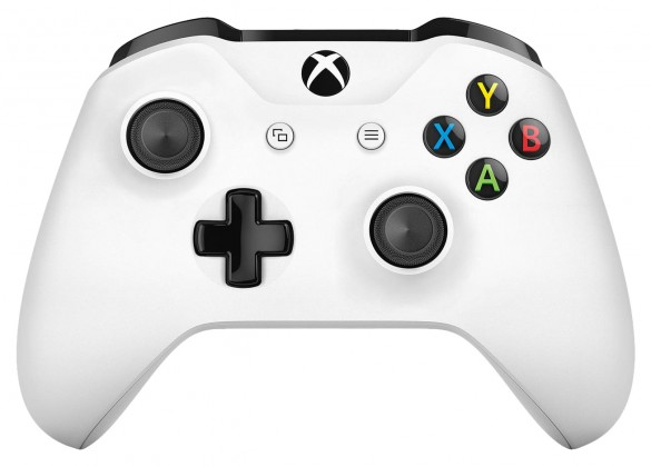 Gamepady pro Xbox Microsoft Xbox One S Wireless Controller white