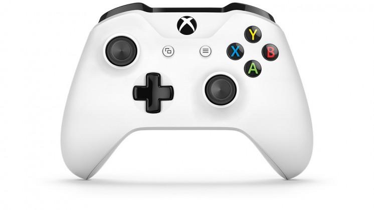 Gamepady pro Xbox Xbox ONE S Bezdrátový ovladač, bílý (PC, Xbox ONE) TF5-00004