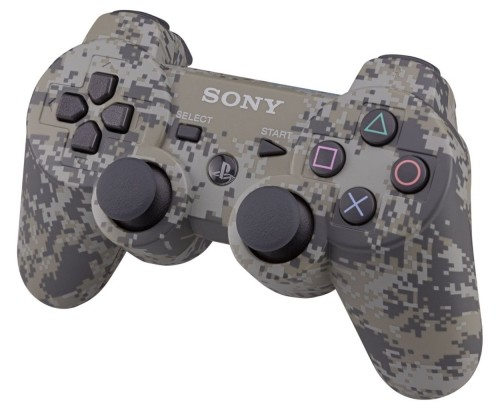 Gamepady PS3 Dualshock Cont Urban Cammo Boxed