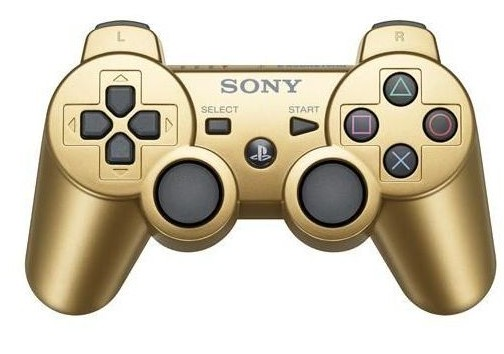 Gamepady PS3 Dualshock Controller Gold Boxed
