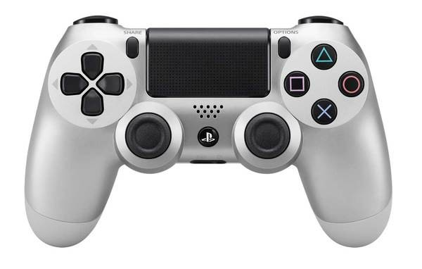 Gamepady Sony PS4 DualShock 4 (Silver) (PS719822943)