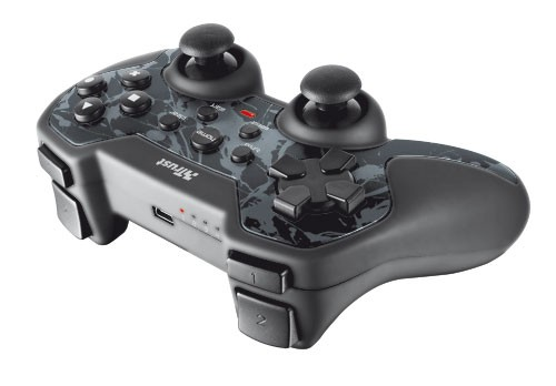 Gamepady Trust GXT 39 Wireless Gamepad pro PC a PS3