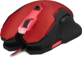 Gaming Mouse SL-680000-BKRD SVIPA, Speed Link, red-black