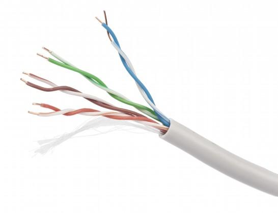 Gembird UPC-5004E-SO-BLUE UTP solid cable, cat. 5e, 305m