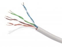 Gembird UPC-5004E-SO-BLUE UTP solid cable, cat. 5e, 305m