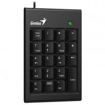 Genius NumPad 100/ Drátová/ USB/ slim design/ černá