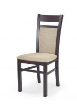 Gerard 2 - Jídelní židle (béžová, ořech)