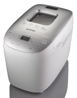 Gorenje BM1600WG domácí pekárna na chleba,850W,kontrolní průzor