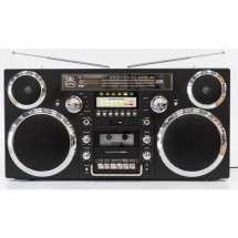 GPO BROOKLYN Black CD CD-R CD-RW USB AM DAB+ FM