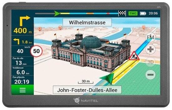 """GPS Navigace 7"""" Navitel E700 LM, 47 zemí, TMC, Speedcam"""