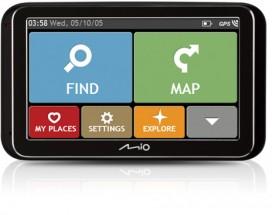 """GPS Navigace Mio Spirit 6900, 5"""", 44 zemí, LM"""