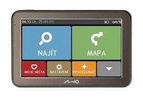 """GPS Navigace Mio Spirit 7100, 5"""", 44 zemí, LM"""