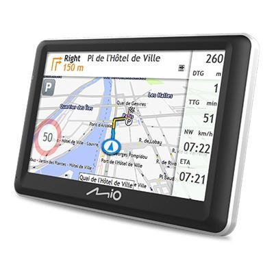 """GPS Navigace Mio Spirit 7800 5"""", speedcam, 45 zemí, LM"""