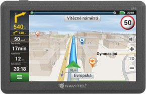 """GPS Navigace Navitel E200 5"""", Truck, speedcam, 15 zemí, LM POUŽIT"""