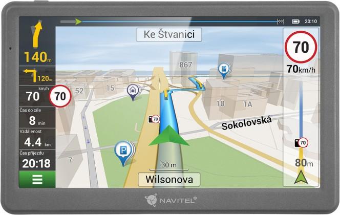 GPS navigace Navitel E700