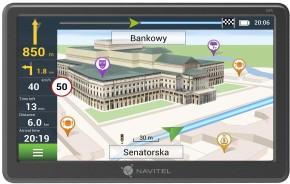 """GPS Navigace Navitel E707 7"""", Truck, speedcam, 47 zemí, LM"""