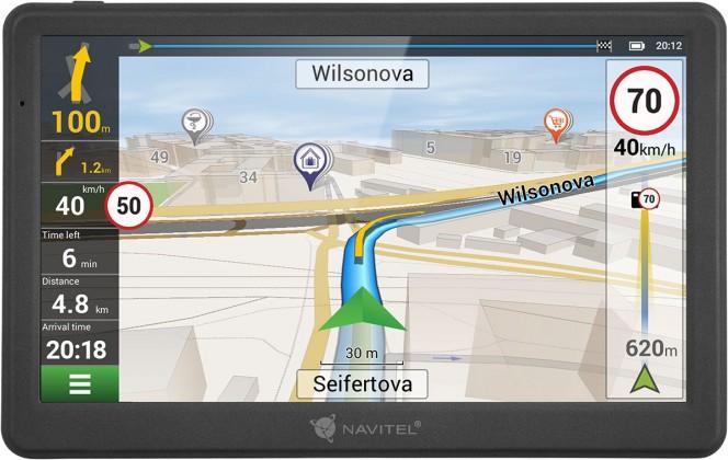 """GPS Navigace Navitel MS700 7"""", Truck, speedcam, 47 zemí, LM"""