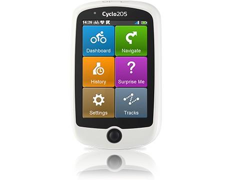 GPS ZLEVNĚNO Mio Cyclo 205 HC 5262N5060001 ROZBALENO