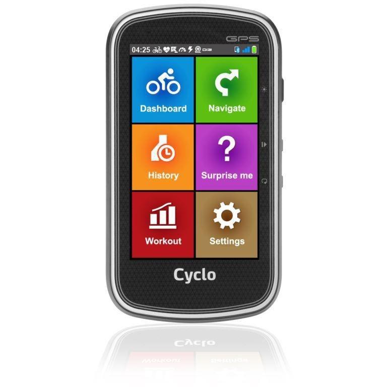 GPS ZLEVNĚNO Mio Cyclo 405, GPS cyklonavigace POUŽITÉ, NEOPOTŘEBENÉ ZBOŽÍ