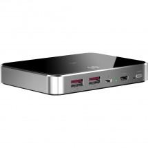 Grafenová powerbanka Prestigio 10000mAh, 18W, Qi, USB-C