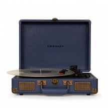 Gramofon Crosley Cruiser Deluxe, modrý