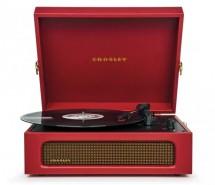 Gramofon Crosley Voyager, červený